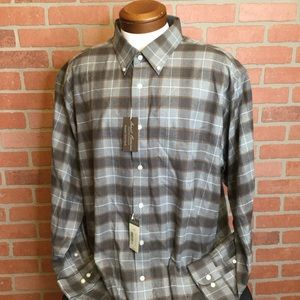 Cremieux Mens button front shirt XXL 2X (MM53/54)